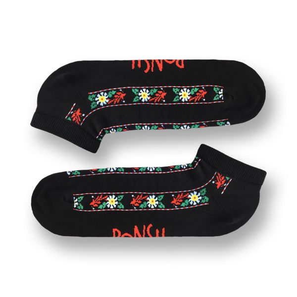Ponožky ľudové členkové