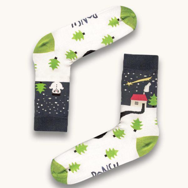 vianocne ponozky vyrobene na slovensku