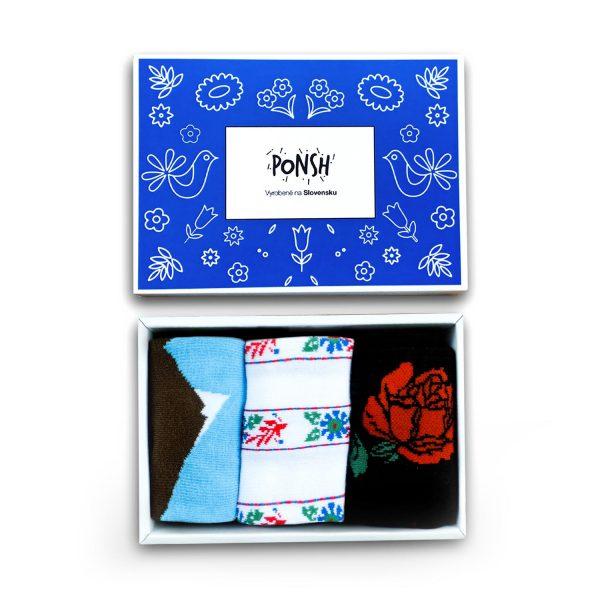 Ponožky darčekové balenie